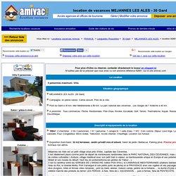 Villa MEJANNES LES ALES 30 Gard