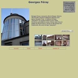 La villa Perrotte Dieppe Georges Féray