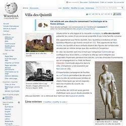 Villa des Quintili