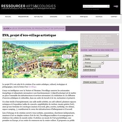 EVA, projet d'éco-village artistique