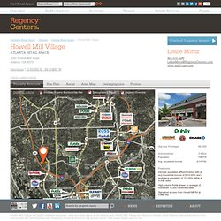 Howell Mill Village | Atlanta Retail Space for Rent and Restaurant Space for Lease
