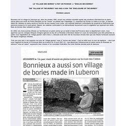 """Le """"Village des Bories"""" a fait un petit : l' """"enclos des Bories"""""""