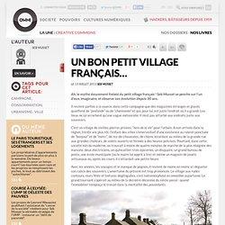 Un bon petit village français…