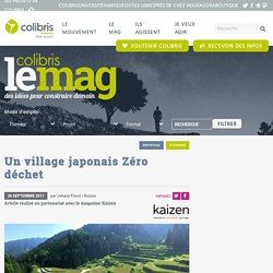 Un village japonais Zéro déchet