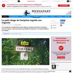 Le petit village de Campôme regrette ses migrants