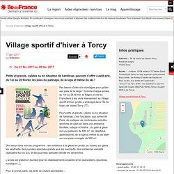Village sportif d'hiver à Torcy
