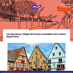 Les plus beaux villages de France accessibles sans voiture depuis Paris – Paris ZigZag
