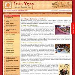 Les villages d'artisanat au Vietnam - Guide Voyage Vietnam