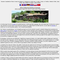 Villes et villages des Cévennes et d'Auvergne