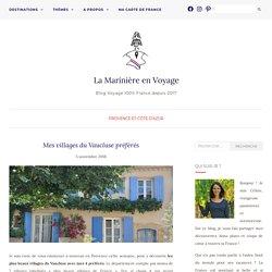 Mes villages du Vaucluse préférés