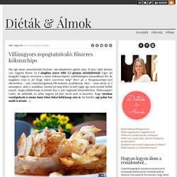Villámgyors ropogtatnivaló: fűszeres kókuszchips - Diéták & Álmok