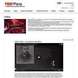 Cédric Villani – La naissance des idées