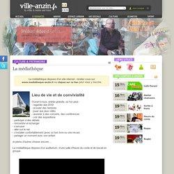 Ville-Anzin.fr - La médiathèque