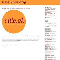 'ville.2k - the 101 Best...