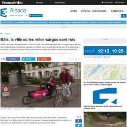 Bâle, la ville où les vélos-cargos sont rois - France 3 Alsace
