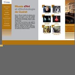 Ville de Guéret - Musée de la Sénatorerie