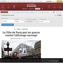 La Ville de Paris part en guerre contre l'affichage sauvage - 15/12/16