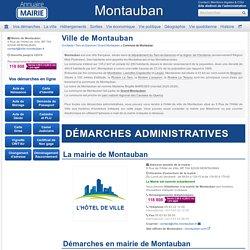 Ville de Montauban, la Mairie de Montauban et sa commune (82000)