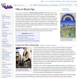 Ville au Moyen Âge