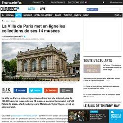 La Ville de Paris met en ligne les collections de ses 14 musées