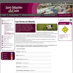 Ville de Saint-Sébastien-sur-Loire : Livres en liberté