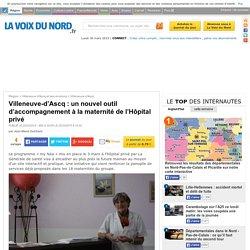 Villeneuve-d'Ascq : un nouvel outil d'accompagnement à la maternité de l'Hôpital privé