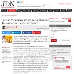 Confidentiel : Amazon Lockers débarque en France