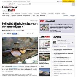 De Boutin à Villepin, tous les avatars du «revenu citoyen»
