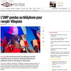 L'UMP pendue au téléphone pour remplir Villepinte