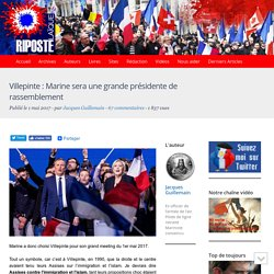 Villepinte : Marine sera une grande présidente de rassemblement