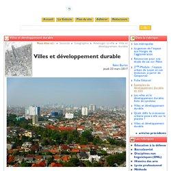 Un autre exemple étude de cas Londres et Djakarta Villes et développement durable - Clio-Lycée