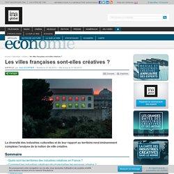 Les villes françaises sont-elles créatives ?