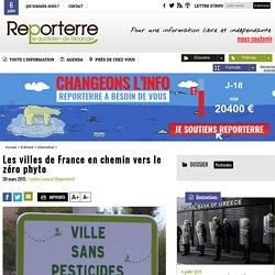 Les villes de France en chemin vers le zéro phyto