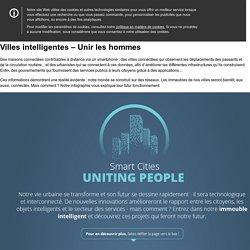 Villes intelligentes – Unir les hommes