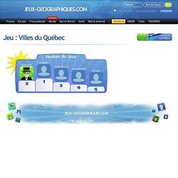 Villes du Québec jeux gratuits