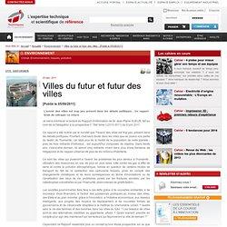 Villes du futur et futur des villes