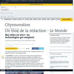 Nos villes en2017: les technologies qui comptent
