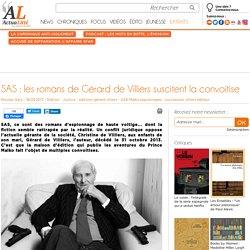 SAS : les romans de Gérard de Villiers suscitent la convoitise