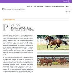Villoo Poonawalla Greenfield Farms