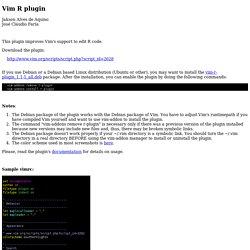 Vim-R-plugin