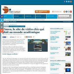 Vimeo, le site de vidéo chic qui plaît au monde académique