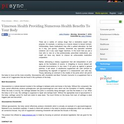Vimerson Health Providing Numerous Health Benefits To Your Body