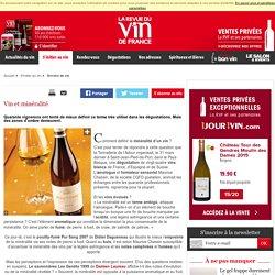 Vin et minéralité
