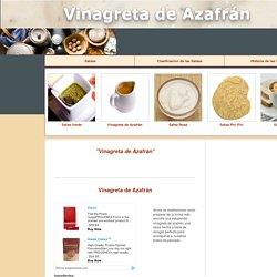 Vinagreta de Azafrán