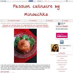 Saumon au céleri rave et vinaigrette au curcuma-piment d'Esplette (et récapitulatif de recettes à base de saumon)