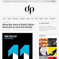 Noma Bar vince la D&AD Yellow Pencil per la serie Don DeLillo