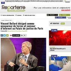 Vincent Bolloré désigné comme accapareur de terres et censeur d'internet au Palais de justice de Paris