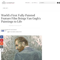 Loving Vincent Animated Film Features 62,450 Hand-Painted Frames