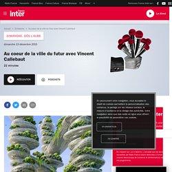Au coeur de la ville du futur avec Vincent Callebaut du 13 décembre 2015 - France Inter