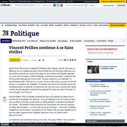 Vincent Peillon continue à se faire étriller